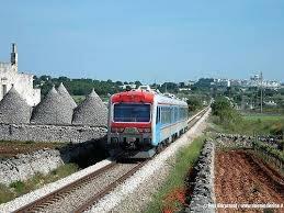 Treni ferrovie Sud Est: TAGLIATE CORSE DA E PER TARANTO